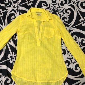 Vibrant Yellow Merona Top
